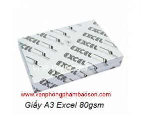 Giấy excell A3 80gsm